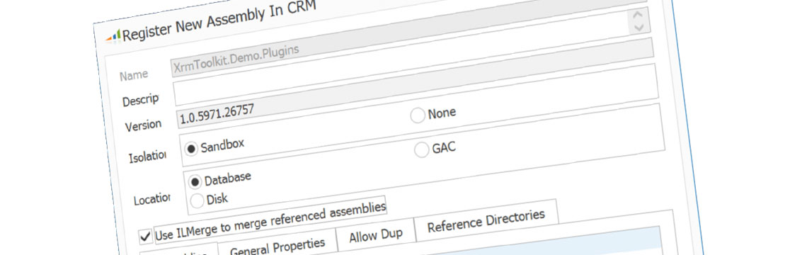 Register Assembly In CRM